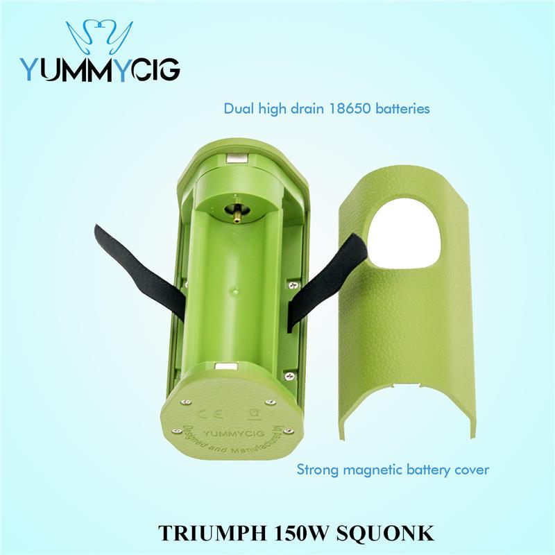 TRIUMPH 150 Вт SQUONK MOD