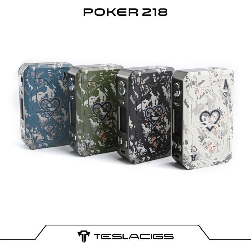 Poker 218 Mod - CE Certification